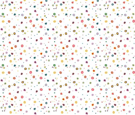 wonky_hearts fabric by pragya_k on Spoonflower - custom fabric
