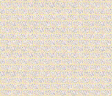 Pastel Bricks fabric by dsa_designs on Spoonflower - custom fabric