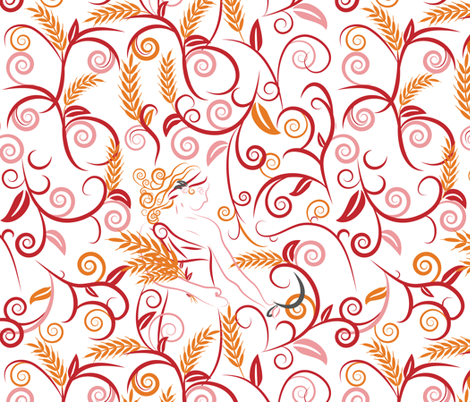 Demeter fabric by ebygomm on Spoonflower - custom fabric