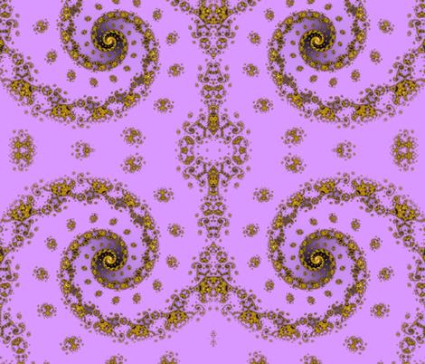 Palatial Portal - Purple fabric by xx_rapunzel_xx on Spoonflower - custom fabric