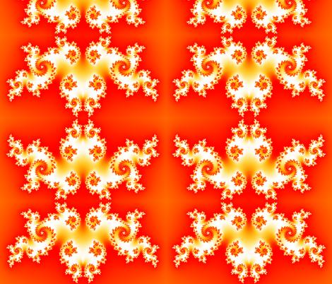 Flames - Red fabric by xx_rapunzel_xx on Spoonflower - custom fabric