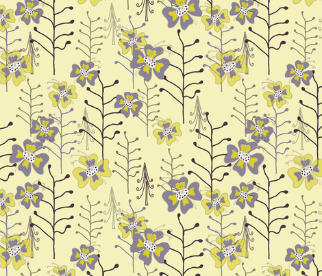 Titania_s_Garden fabric by ttpie on Spoonflower - custom fabric