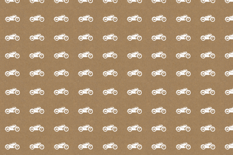 Motorcycle Print fabric by mariahgoldendesign on Spoonflower - custom fabric