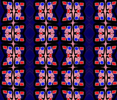 modlady3 fabric by kayross on Spoonflower - custom fabric