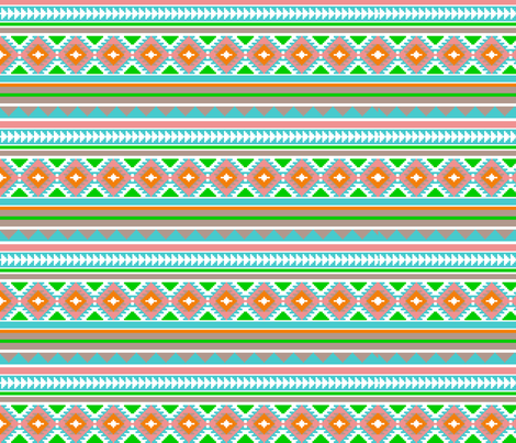 aztec_fabric fabric by hookedbyk on Spoonflower - custom fabric