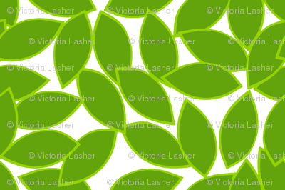 mod_citrus_leaves_lime_outline_on_white