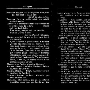 Macbeth Pages