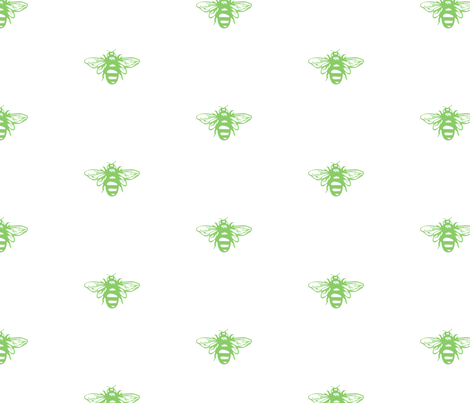 Meant to Bee fabric by wheelerdomo on Spoonflower - custom fabric