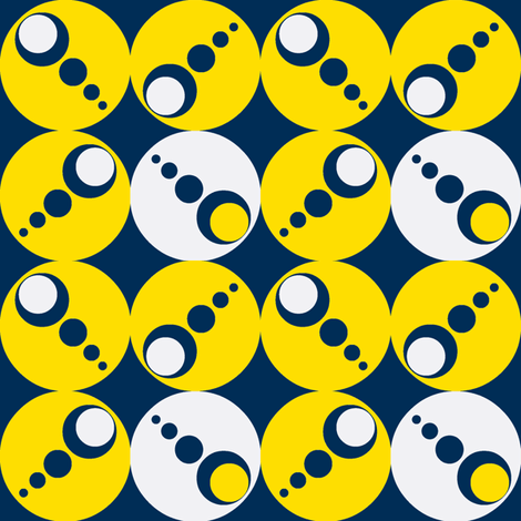 geo fun two fabric by hurryhome on Spoonflower - custom fabric