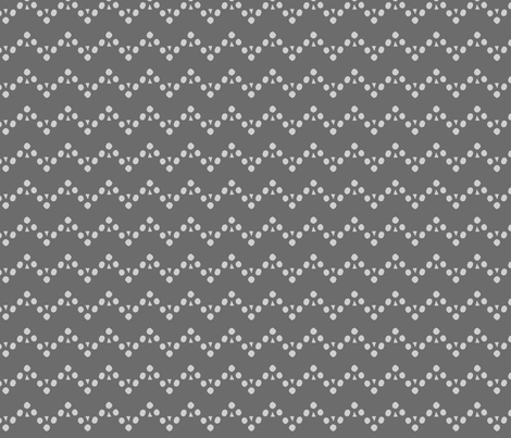 club chevron silver fabric by blotchandthrum on Spoonflower - custom fabric