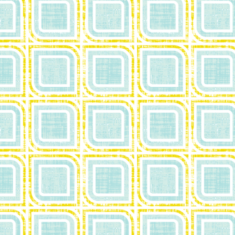 Mod Geometric Squares fabric by katrinazerilli on Spoonflower - custom fabric