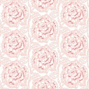 Rose in pink and leaves
