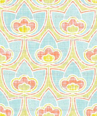 Mod Linen Floral Multi