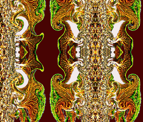 Distortion fabric by whimzwhirled on Spoonflower - custom fabric
