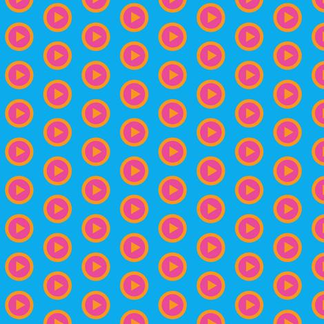 Play Array Blue fabric by spellstone on Spoonflower - custom fabric