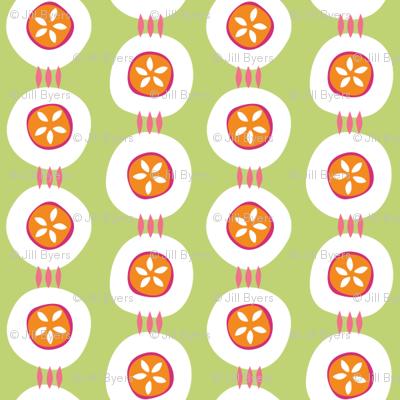 Citrus Buttons green