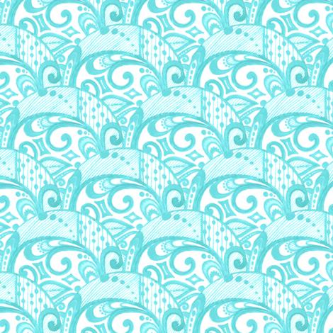 Elyria Swirls fabric by siya on Spoonflower - custom fabric