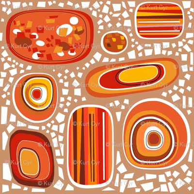 terrazzo - topaz sandstone