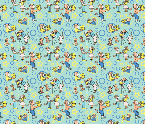 Movie Makers fabric by vinpauld on Spoonflower - custom fabric