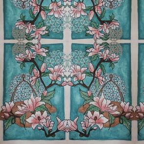 Flower of Life Magnolias