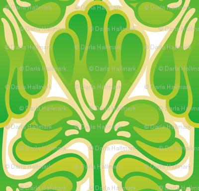 Art Nouveau Spring Green