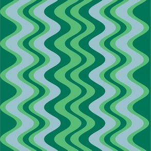 wave pattern emerald