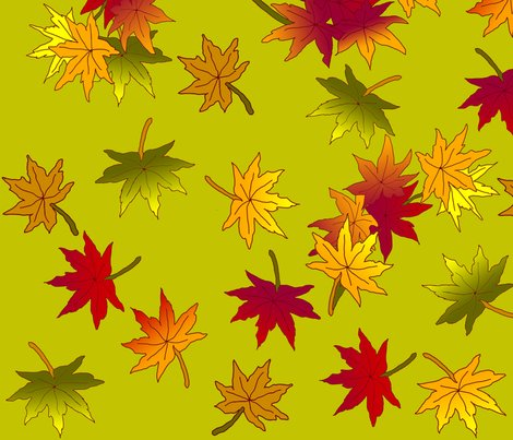 Japanese_maple_autumn_leaves_in_green_tea_shop_preview