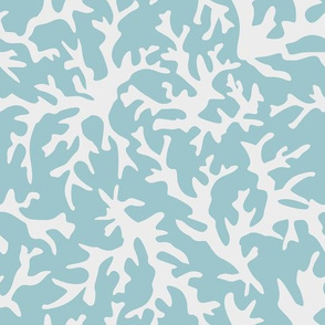 Light Blue Coral Reef