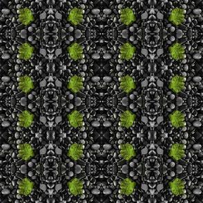 A little green