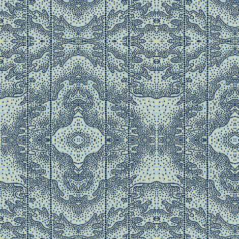 Sea Foam - blue fabric by materialsgirl on Spoonflower - custom fabric