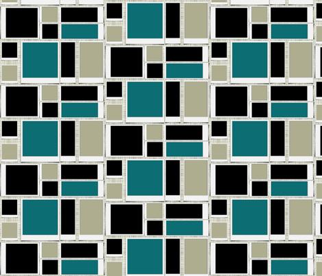Mod Polaroid wallpaper (small) fabric by lizartelier on Spoonflower - custom fabric