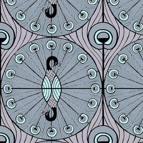 Peacock Dot  (wallpaper sized)