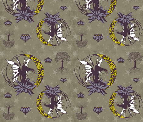 midsummernightsdream fabric by heathertm13 on Spoonflower - custom fabric
