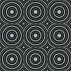 Grey Mod Circles