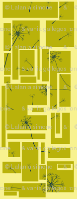 Mod Dandelion-Yellow
