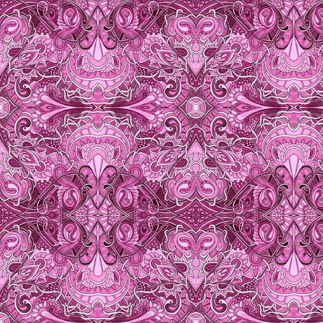 My Paisley Valentine fabric by edsel2084 on Spoonflower - custom fabric