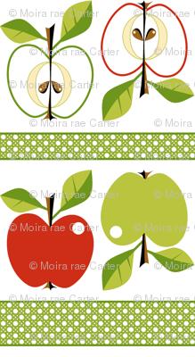 Apples - espalier!