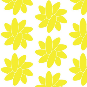 Yellow flower large