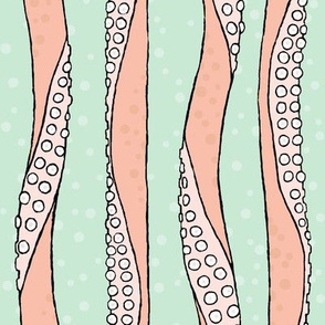 tentacle stripe green