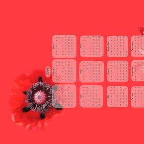 Poppy Calendar 2019