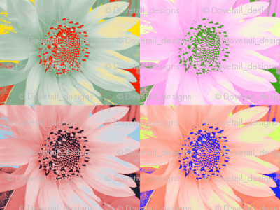 Mod Sunflowers 1