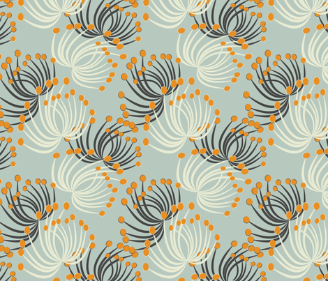 floating fabric by kociara on Spoonflower - custom fabric