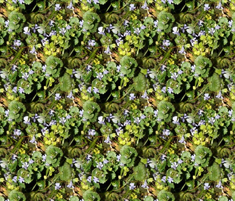 Where The Green Grass Grows fabric by peacoquettedesigns on Spoonflower - custom fabric