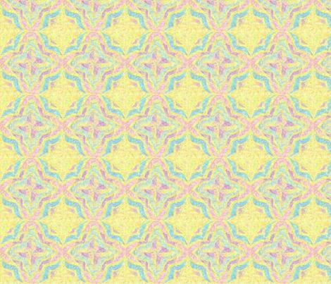 Pinwheel Kaleidoscope Serene fabric by dsa_designs on Spoonflower - custom fabric