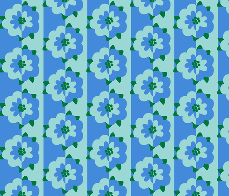mod flower 1 fabric by victorialasher on Spoonflower - custom fabric
