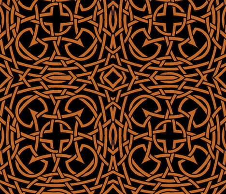 dark knots fabric by whimzwhirled on Spoonflower - custom fabric
