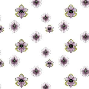 Purple Pleasure-white