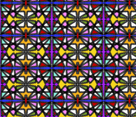 spungeart fabric by sewbiznes on Spoonflower - custom fabric
