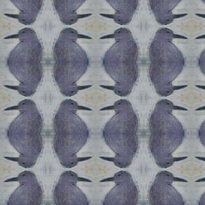 bird reflections