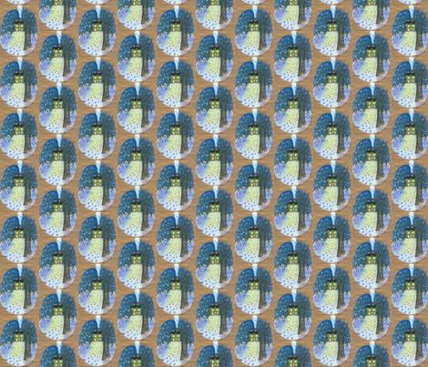 Winter Nigts fabric by addictedtomermaids on Spoonflower - custom fabric